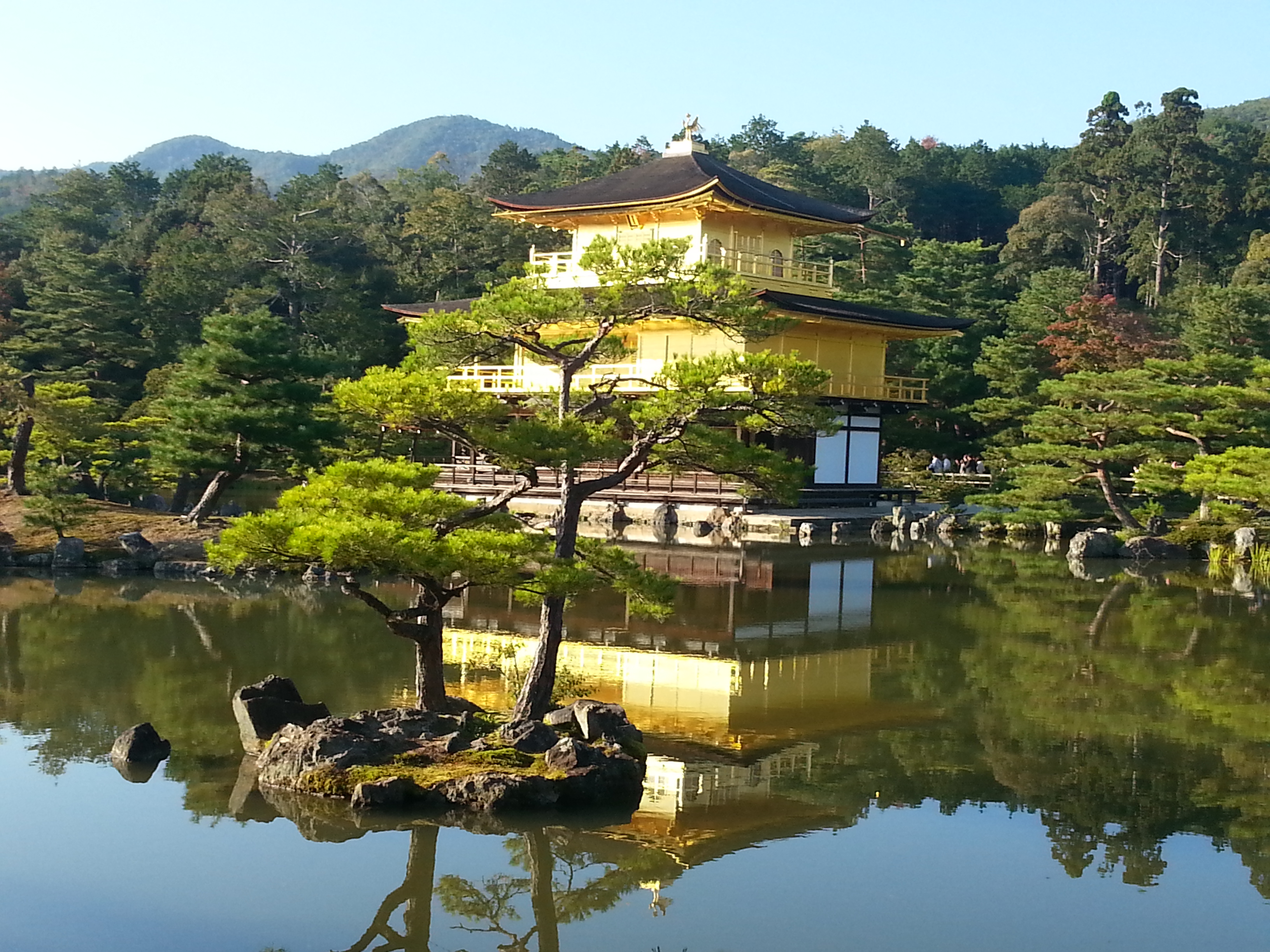 Golden Pavilion in Kyoto, Japan