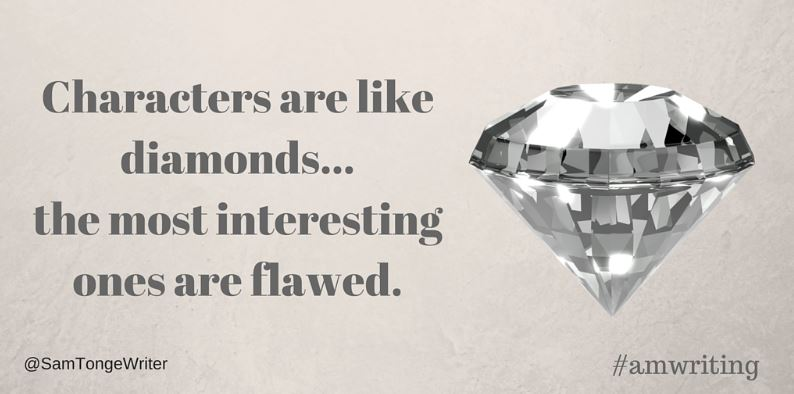 characters like diamonds