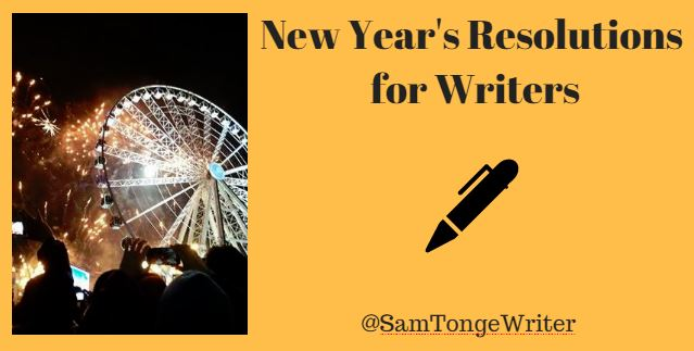 New year res for writers